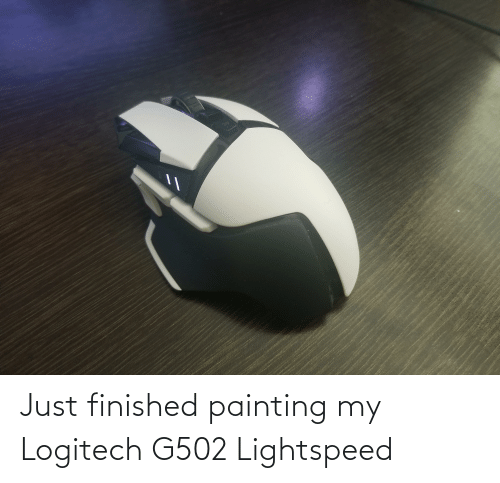 painting: Just finished painting my Logitech G502 Lightspeed