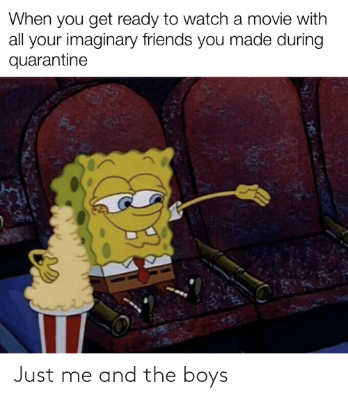 SpongeBob: Just me and the boys