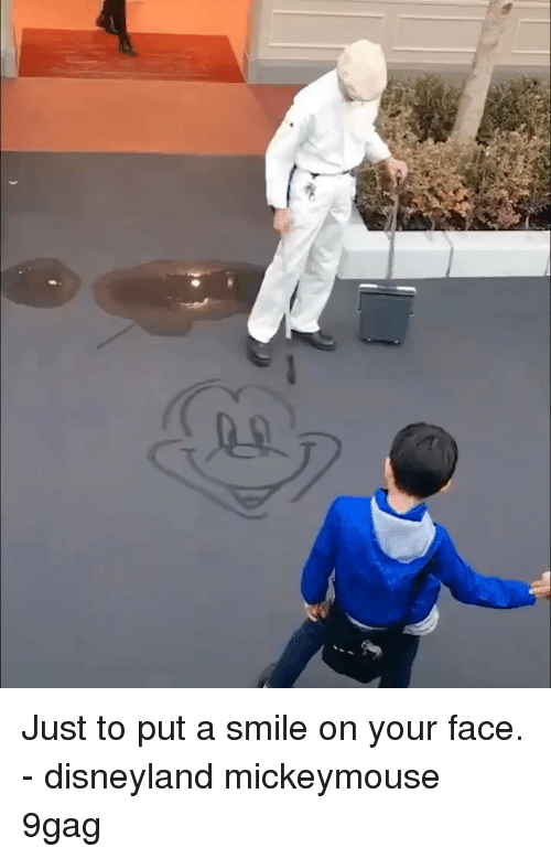 9gag, Disneyland, and Memes: Just to put a smile on your face. - disneyland mickeymouse 9gag
