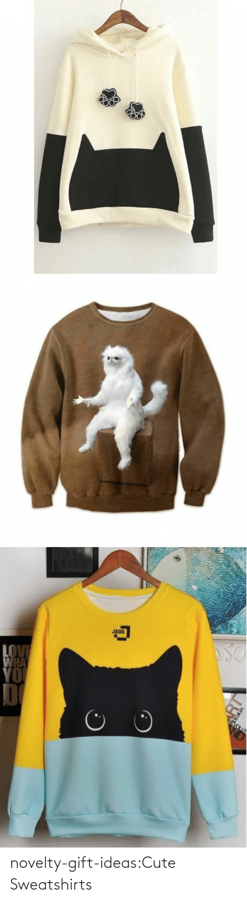 Animals, Cute, and Cute Animals: Jxos  HA novelty-gift-ideas:Cute Sweatshirts