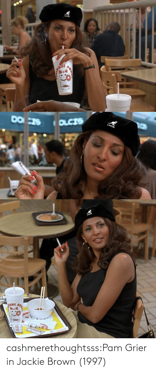 Tumblr, Blog, and Http: KANG cashmerethoughtsss:Pam Grier in Jackie Brown (1997)