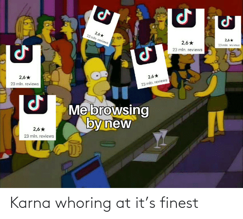 Karna, Finest, and S: Karna whoring at it's finest