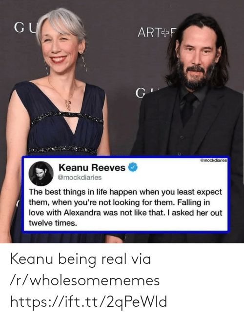 Being Real: Keanu being real via /r/wholesomememes https://ift.tt/2qPeWId