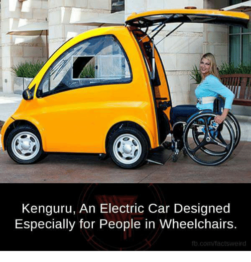 kenguru an electric car designed especially for people in wheelchairs 14383546 kenguru an electric car designed especially for people in