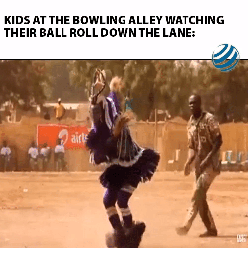 Alley: KIDS AT THE BOWLING ALLEY WATCHING  THEIR BALL ROLL DOWN THE LANE:  airls  LTC