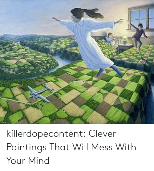 Mind: killerdopecontent:    Clever Paintings That Will Mess With Your Mind