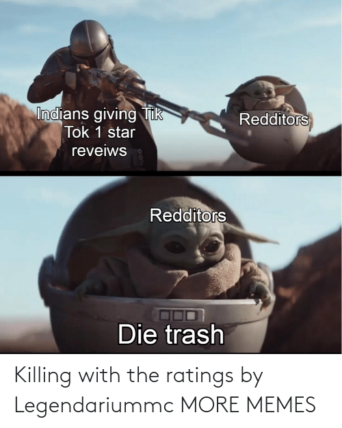 Killing: Killing with the ratings by Legendariummc MORE MEMES