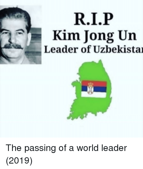 Kim Jong-Un, World, and Kim: Kim Jong Un  Leader of Uzbekistai
