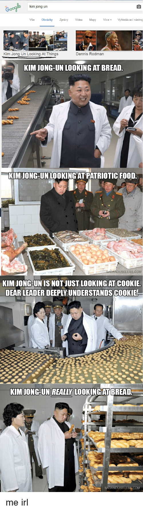 Kim Jong Un Looking At Things