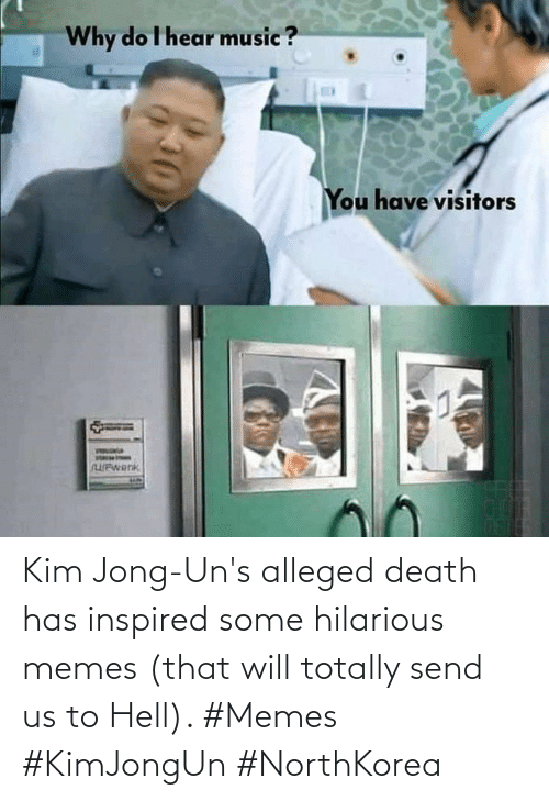 Uns: Kim Jong-Un's alleged death has inspired some hilarious memes (that will totally send us to Hell). #Memes #KimJongUn #NorthKorea