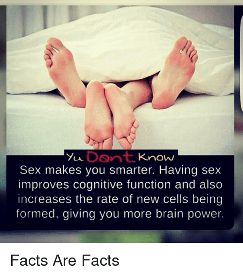 Seven ways sex makes you smarter