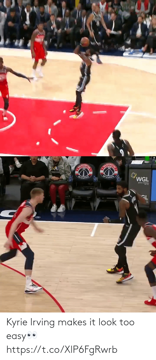 Too Easy: Kyrie Irving makes it look too easy👀 https://t.co/XlP6FgRwrb