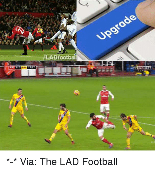 Odee: LADfootbail  ode  upgr  SPORTS *-*  Via: The LAD Football