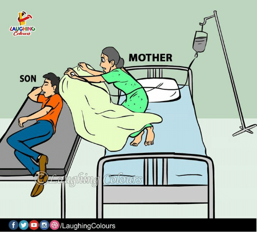 Indianpeoplefacebook, Mother, and Son: LAUGHING  Cetc  MOTHER  SON