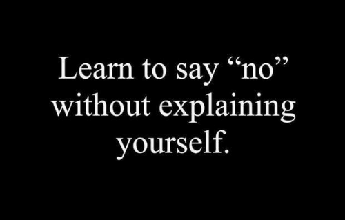 """Memes, 🤖, and  No: Learn to sav """"no""""  without explaining  yourself"""