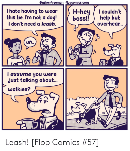 Comics: Leash! [Flop Comics #57]