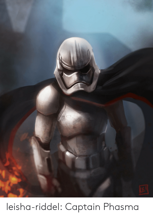 Tumblr, Blog, and Com: leisha-riddel:  Captain Phasma
