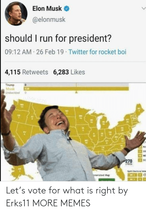 What Is: Let's vote for what is right by Erks11 MORE MEMES