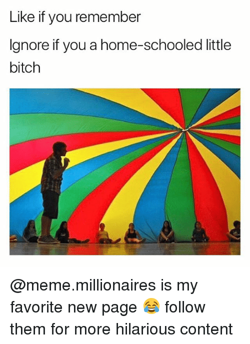 schooled: Like if you remember  Ignore if you a home-schooled little  bitch @meme.millionaires is my favorite new page 😂 follow them for more hilarious content