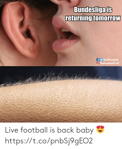 Football: Live football is back baby 😍 https://t.co/pnbSj9gEO2