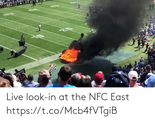 nfc: Live look-in at the NFC East  https://t.co/Mcb4fVTgiB