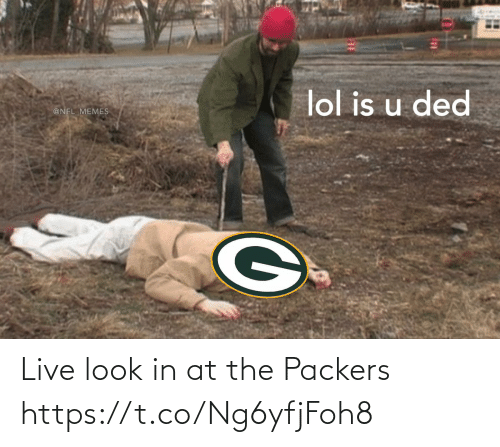 look: Live look in at the Packers https://t.co/Ng6yfjFoh8