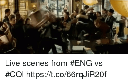 Memes, Live, and 🤖: Live scenes from #ENG vs #COl  https://t.co/66rqJiR20f