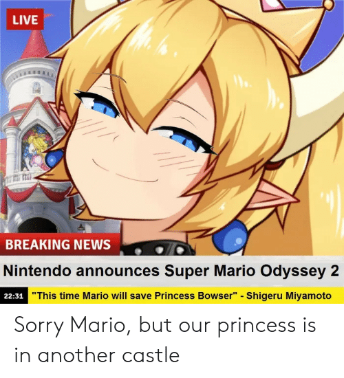 Live Titi Mi Breaking News Nintendo Announces Super Mario