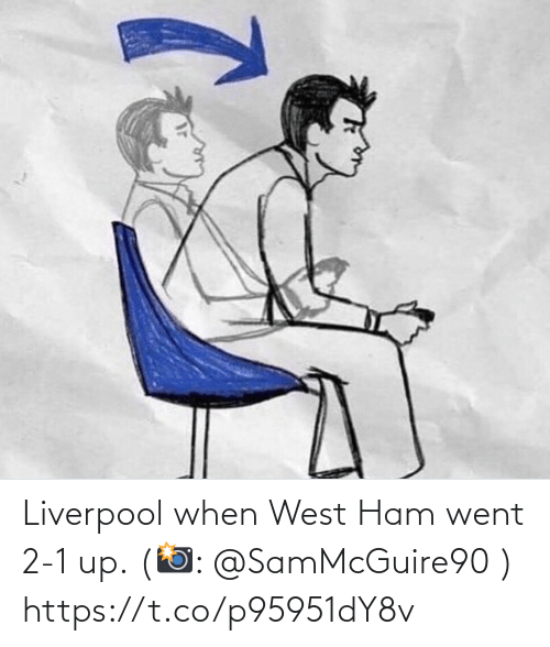 Liverpool F.C.: Liverpool when West Ham went 2-1 up. (📸: @SamMcGuire90 ) https://t.co/p95951dY8v