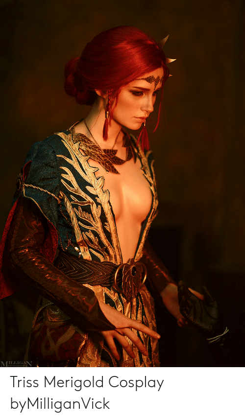 Cosplay and Triss Merigold: LLIGANT Triss Merigold Cosplay byMilliganVick