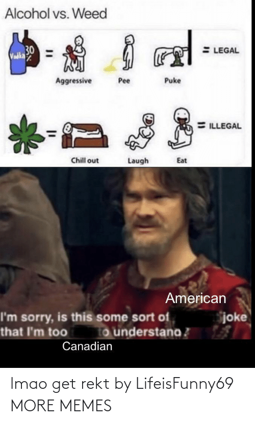 LMAO: lmao get rekt by LifeisFunny69 MORE MEMES