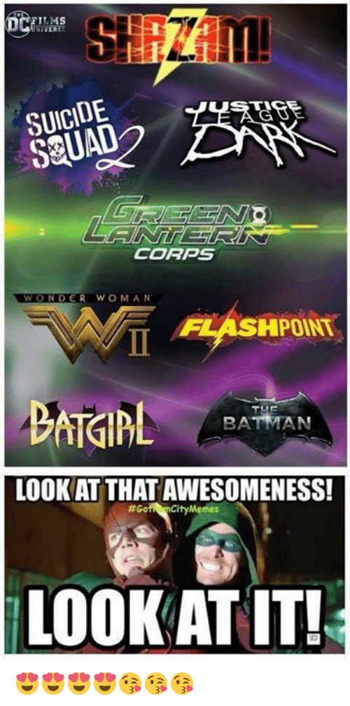 Bã¦: LMS  SUICIDE  SQUAD  CORPS  WOND  WONDER WOMAN  FLASHPOINT  BA  LOOK AT THAT AWESOMENESS!  #Go  Mgmes  LOOK AT IT! 😍😍😍😍😘😘😘