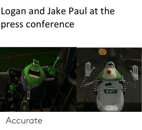 Jake Paul, Paul, and Press: Logan and Jake Paul at the  press conference  HETN  8-22 Accurate
