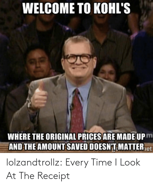 Look At: lolzandtrollz:  Every Time I Look At The Receipt