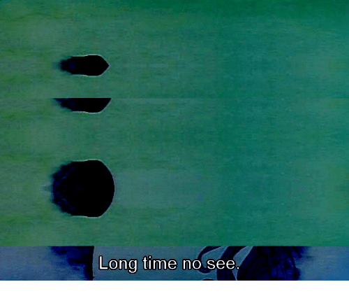 Time, Long Time No See, and  No: Long time no see