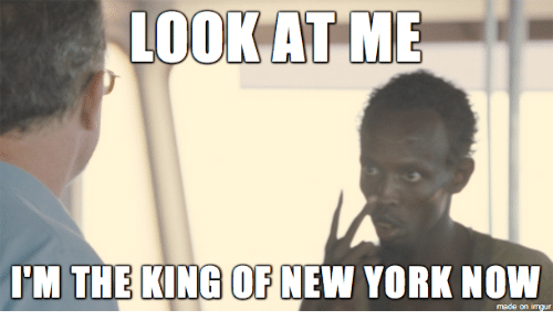 New York, Imgur, and King: LOOKAT ME  I'M THE KING OF NEW YORK NOW  made on imgur