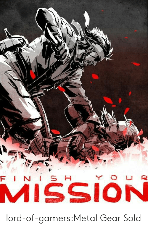 gear: lord-of-gamers:Metal Gear Sold