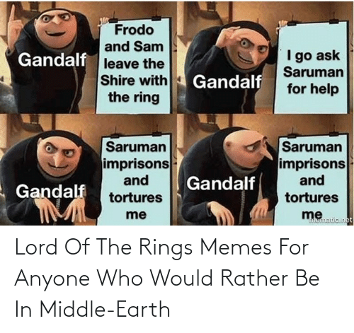 Rather Be: Lord Of The Rings Memes For Anyone Who Would Rather Be In Middle-Earth