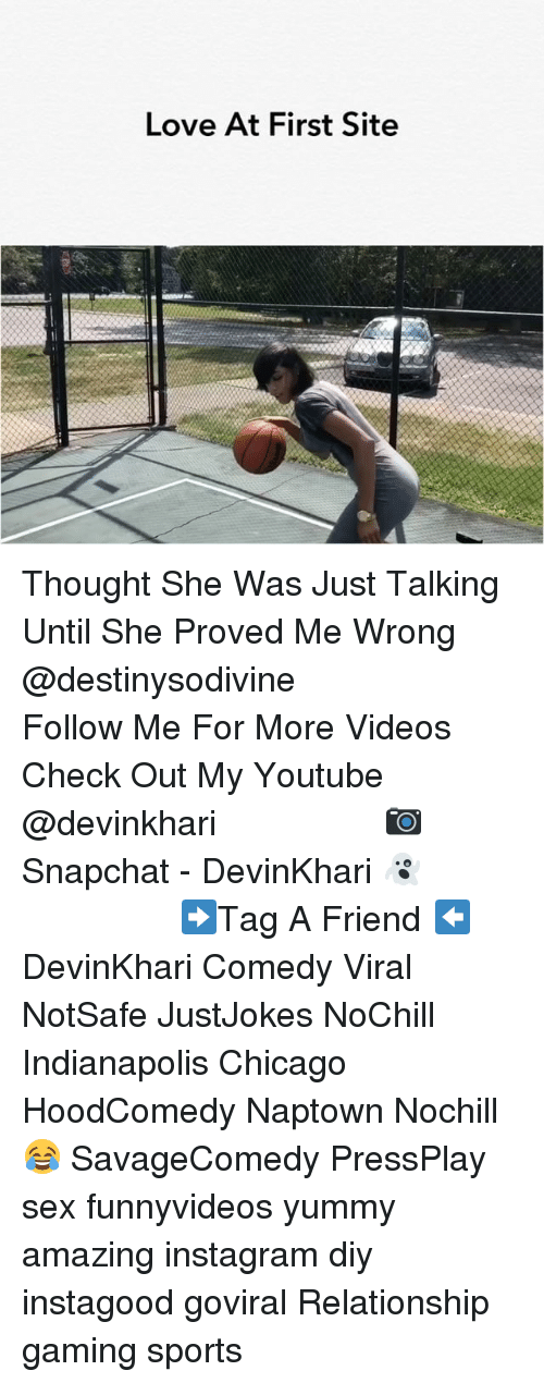 Hoodcomedy: Love At First Site Thought She Was Just Talking Until She Proved Me Wrong @destinysodivine ━━━━━━━━━━━━━━━ Follow Me For More Videos Check Out My Youtube @devinkhari ━━━━━━━━━━━━━━━ 📷 Snapchat - DevinKhari 👻 ━━━━━━━━━━━━━━━ ➡️Tag A Friend ⬅️ DevinKhari Comedy Viral NotSafe JustJokes NoChill Indianapolis Chicago HoodComedy Naptown Nochill 😂 SavageComedy PressPlay sex funnyvideos yummy amazing instagram diy instagood goviral Relationship gaming sports ━━━━━━━━━━━━━━━
