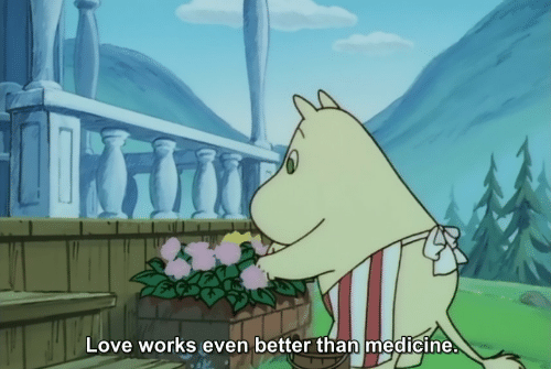 Love, Medicine, and Works: Love works even better than medicine