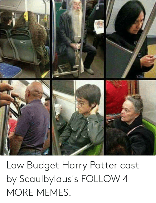 Low Budget: Low Budget Harry Potter cast by Scaulbylausis FOLLOW 4 MORE MEMES.