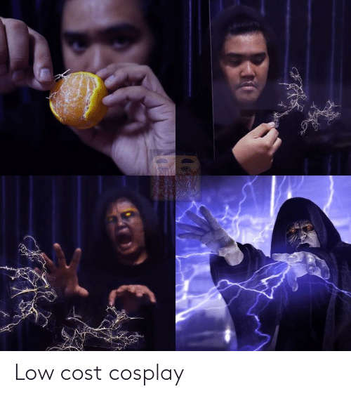 Cosplay: Low cost cosplay