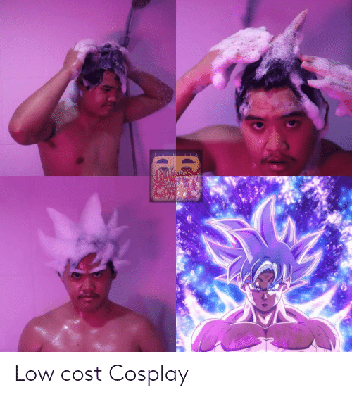Cost: Low cost Cosplay