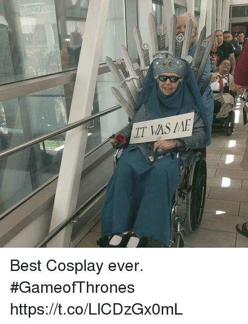 cosplayers: LT AS ME Best Cosplay ever. #GameofThrones https://t.co/LlCDzGx0mL
