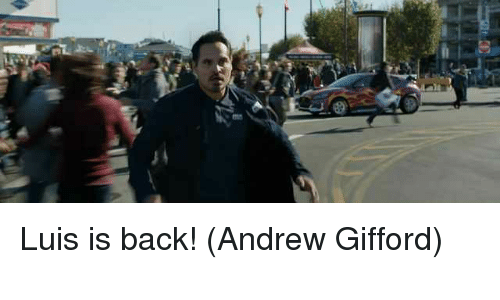 Memes, Back, and 🤖: Luis is back!  (Andrew Gifford)