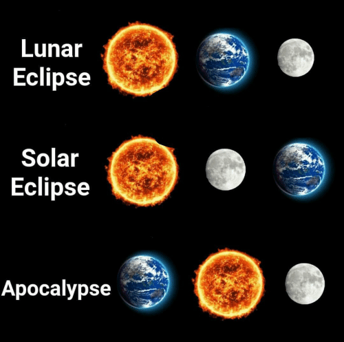 Eclipse: Lunar  Eclipse  Solar  Eclipse  Aроcalypse