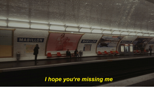 Hope, Youre, and Missing: MABILLON  LipaulMABILLON  I hope you're missing me