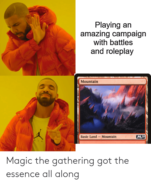 Essence: Magic the gathering got the essence all along