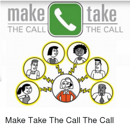 Ddoi , The Call, and Make: maketake  THE CALL  THE CALL