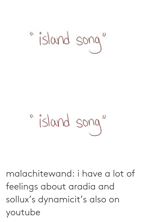 Youtu: malachitewand:  i have a lot of feelings about aradia and sollux's dynamicit's also on youtube